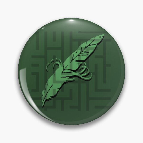 Quill Logo Pin