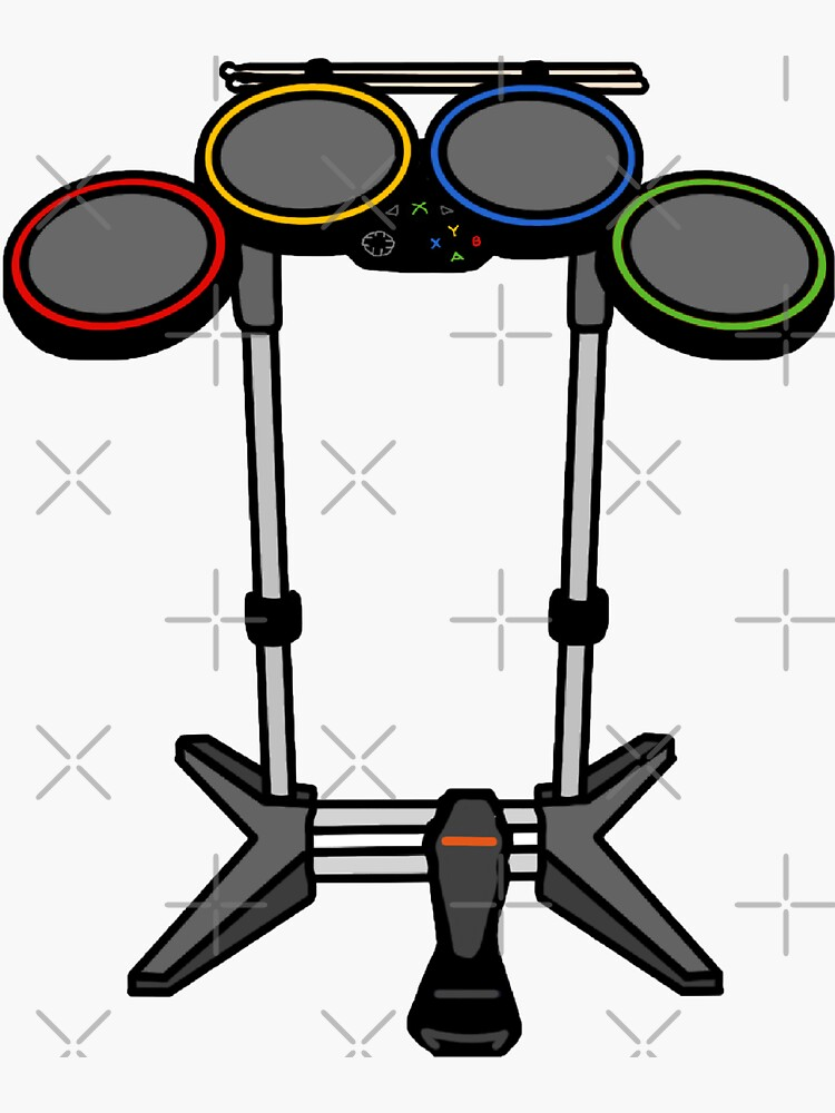 Rock Band Drums by shaylikipnis