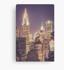 Chrysler Building Dusk Canvas Print