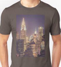 Chrysler Building Dusk Unisex T-Shirt