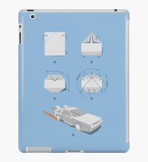Origami DeLorean iPad Case/Skin