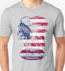 usa indian flag logo by rogers bros Unisex T-Shirt