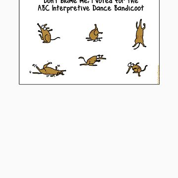 ABC Interpretive Dance Bandicoot by firstdog
