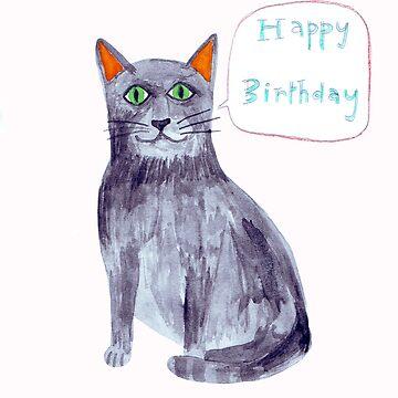 Happy Birthday card by catherineinsch