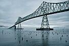 Water under the bridge by Dan Mihai