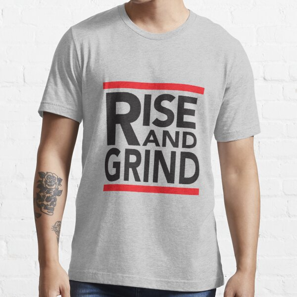 Rise and Grind - RUN DMC - Red Essential T-Shirt