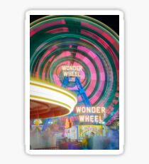 Wonder Wheel Sticker