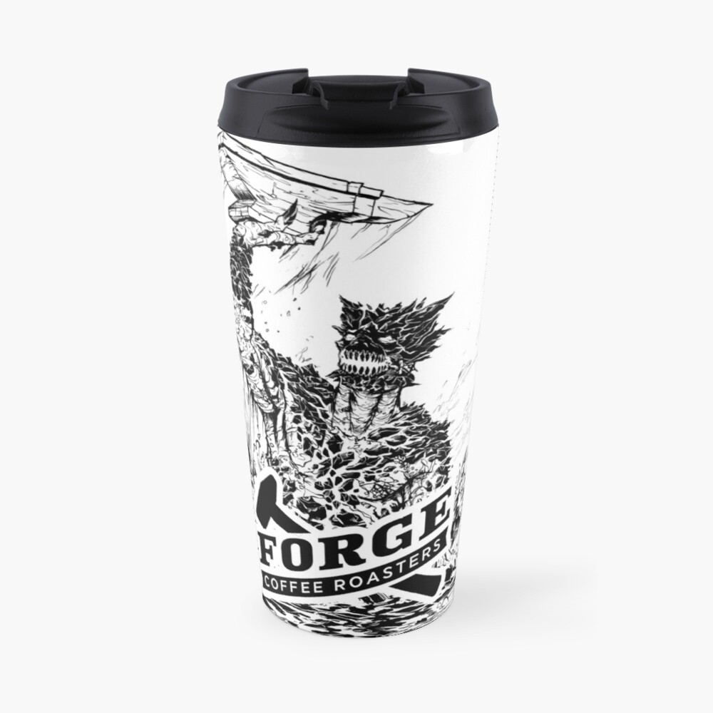 Forge Coffee® Slag Monster Logo Swag Travel Mug