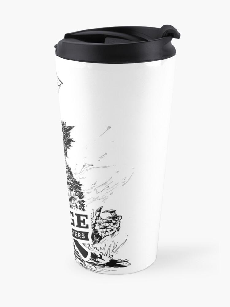 Alternate view of Forge Coffee® Slag Monster Logo Swag Travel Mug