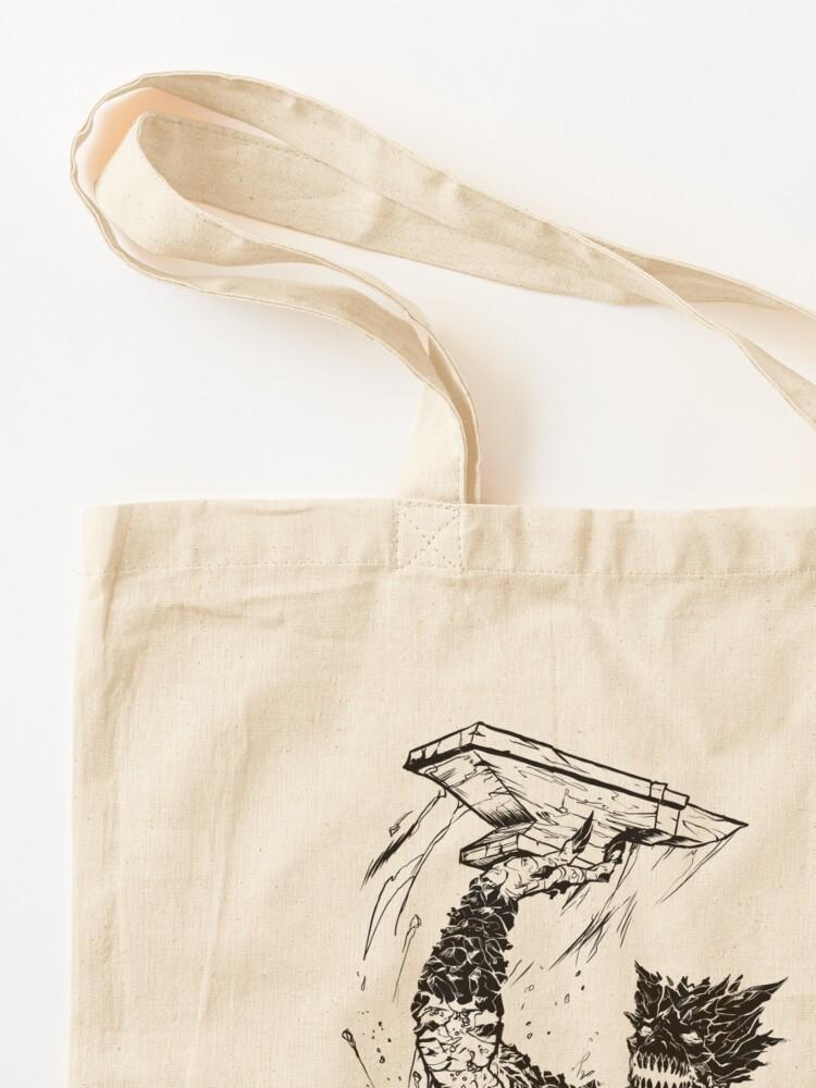 Alternate view of Forge Coffee® Slag Monster Logo Swag Tote Bag
