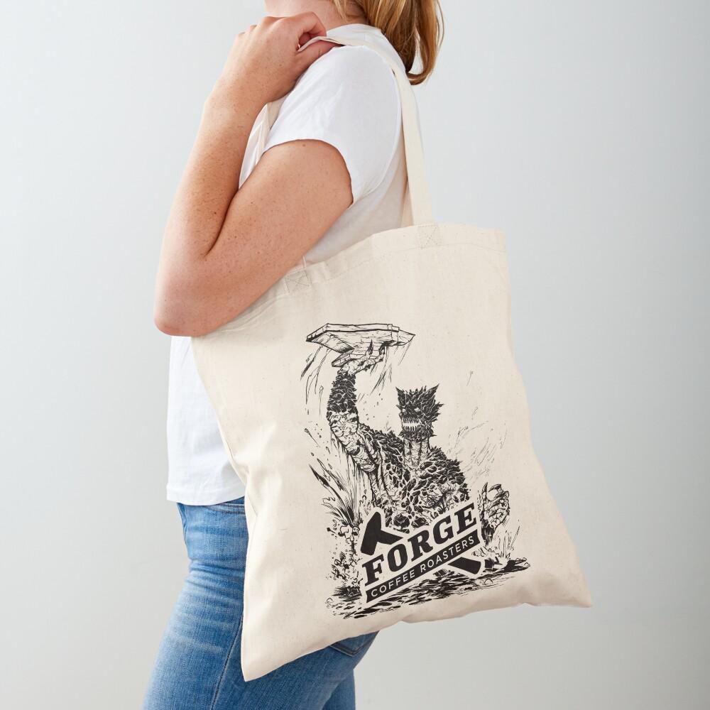Forge Coffee® Slag Monster Logo Swag Tote Bag
