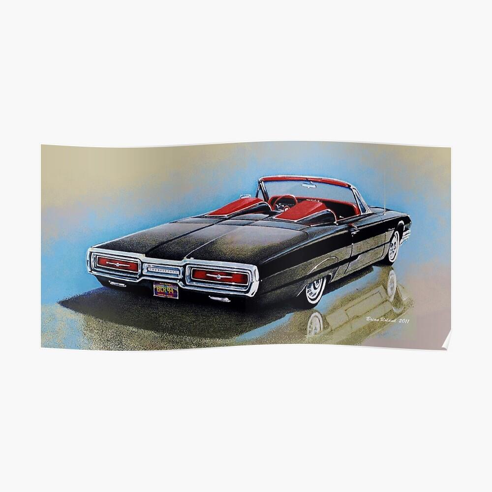 1964 Ford Thunderbird Roadster Poster