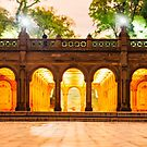 Bethesda Terrace by Randy  LeMoine