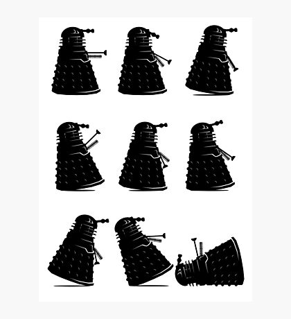 Ministry of Dalek Silly Walks Photographic Print