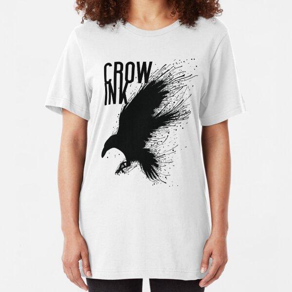 CROW-INK Slim Fit T-Shirt