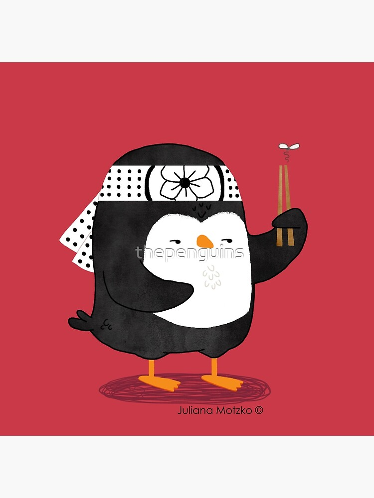 Karate Penguin by thepenguins