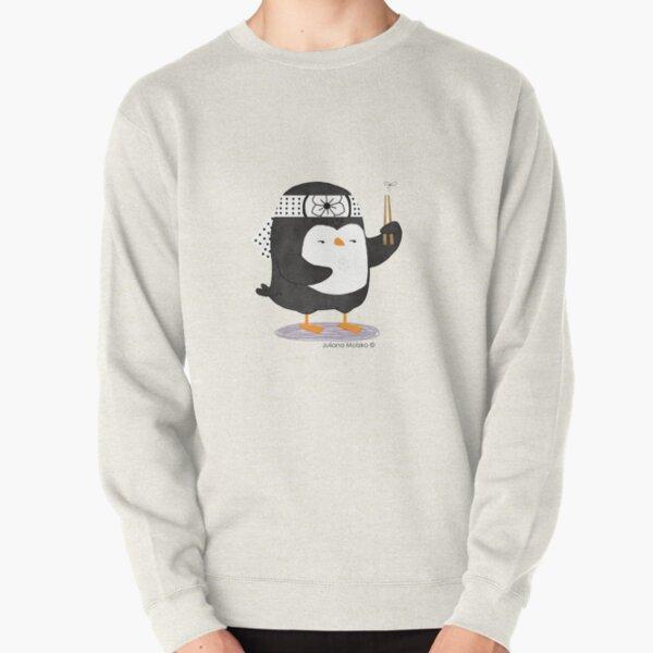 Karate Penguin Pullover Sweatshirt