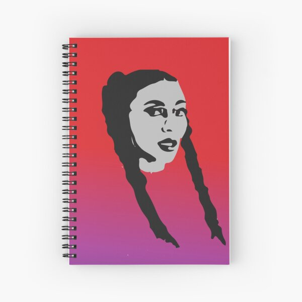 """""""It's Herby, baby"""" Qveen Herby Design Spiral Notebook"""