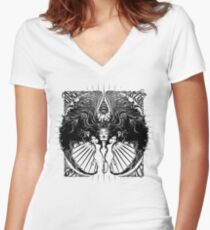 UberWings Tee Women's Fitted V-Neck T-Shirt