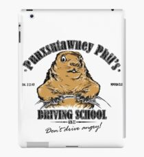 Punxsutawney Phil's Driving School iPad Case/Skin