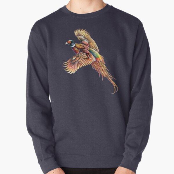 Pheasant Portrait Pullover Sweatshirt