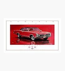 1967 Pontiac GTO ver 2 Photographic Print