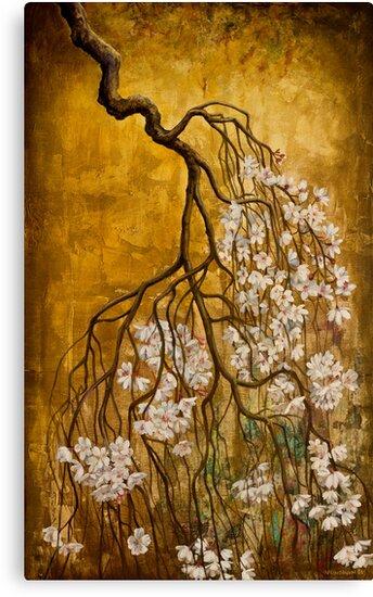 Blooming sakura by Vrindavan Das