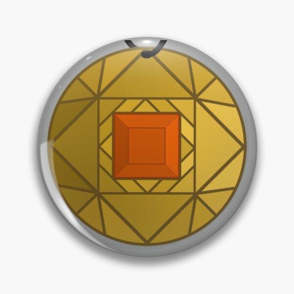 Orange Amulet Pin