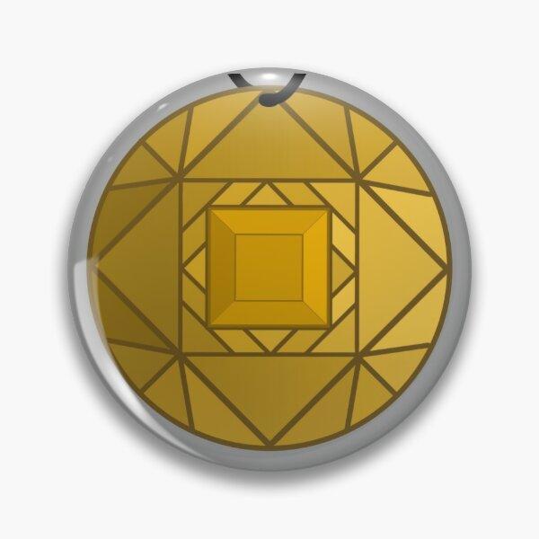 Yellow Amulet Pin
