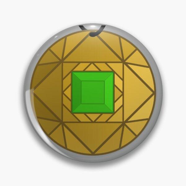Green Amulet Pin
