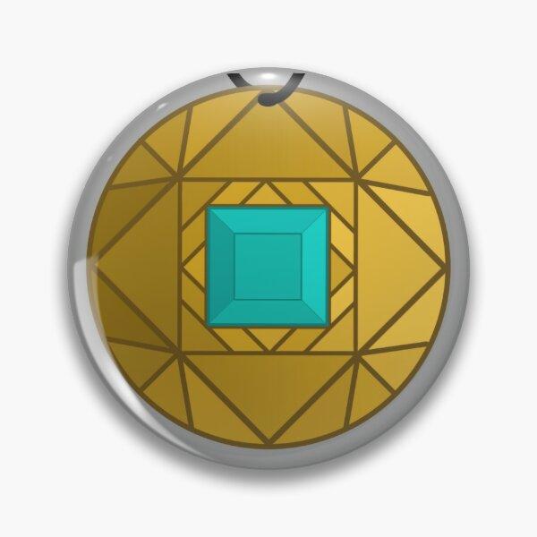 Light Blue Amulet Pin