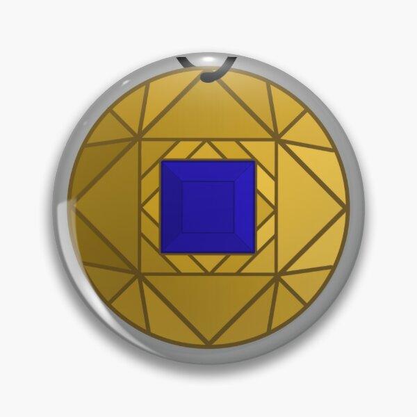 Blue Amulet Pin