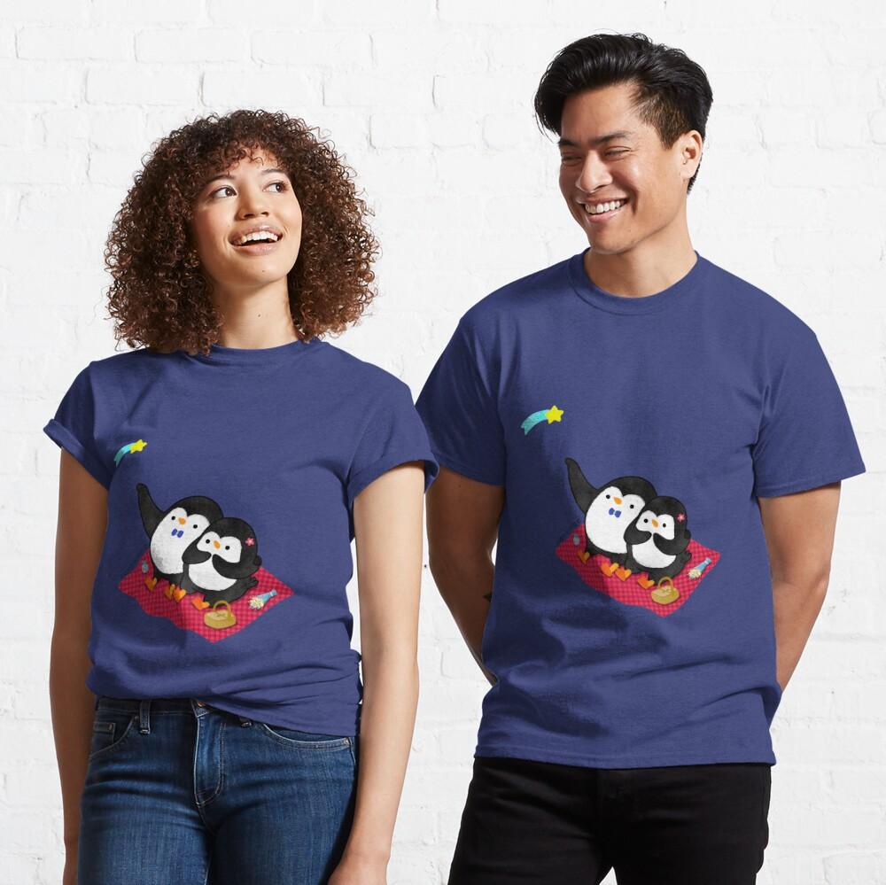 A Penguin Romantic Picnic Classic T-Shirt