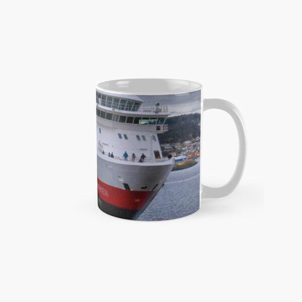 """The """"Finnmarken"""" Berthing in Tromso  Classic Mug"""