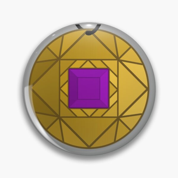 Purple Amulet Pin