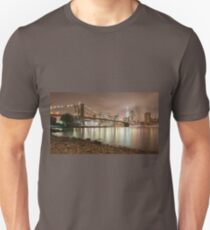 Brooklyn Bridge at Dusk T-Shirt