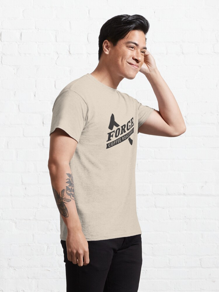 Alternate view of Forge Coffee® Logo Swag Classic T-Shirt