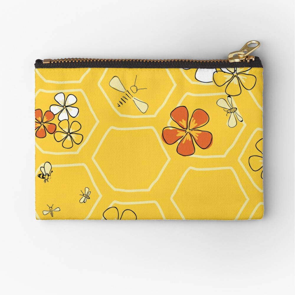 Buzz About Zipper Pouch
