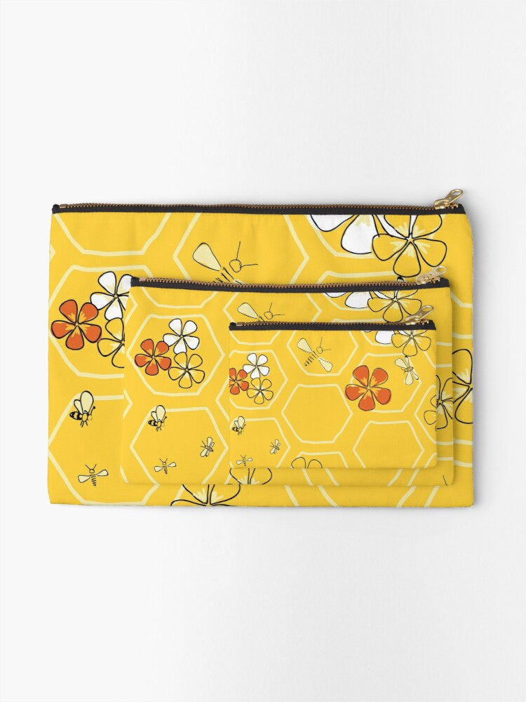 Alternate view of Buzz About Zipper Pouch