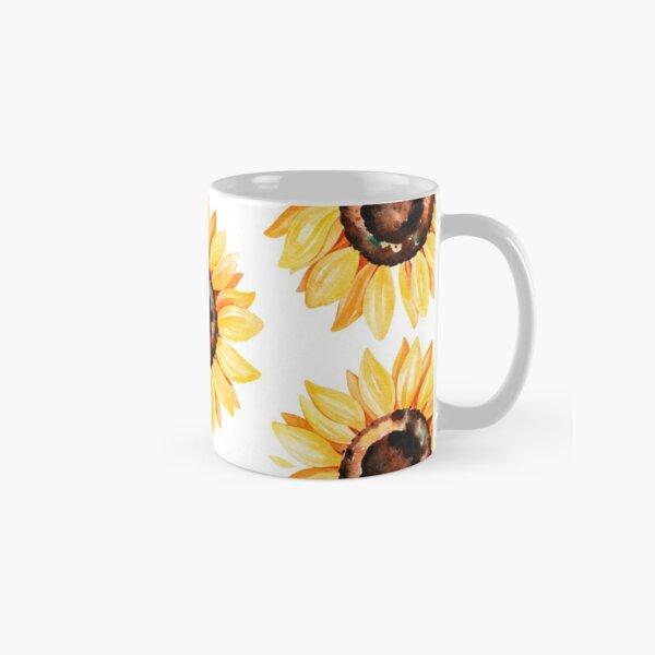 Watercolor sunflower Classic Mug
