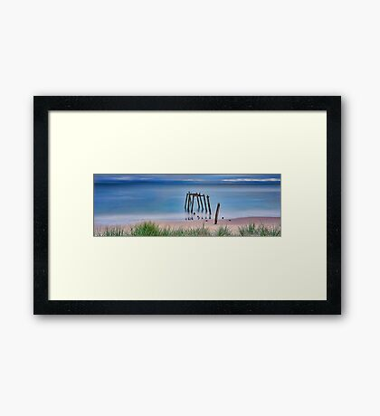 Divide And Conquer Framed Print