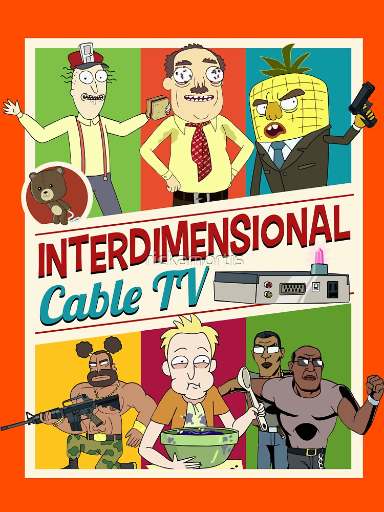 Interdimensional Cable TV | Unisex T-Shirt