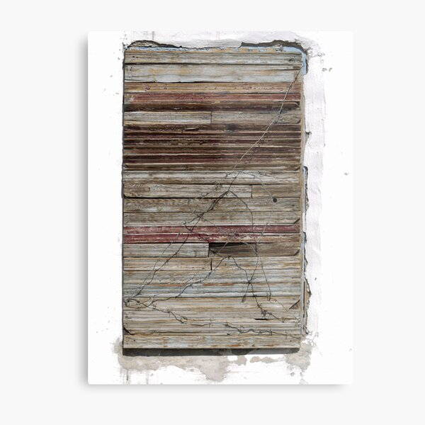 Boarded up - with style (2) Metal Print