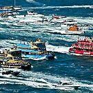 Ferry race 2008 by Antoine de Paauw