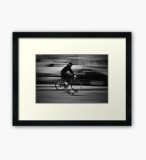 Man And His Dog Framed Print