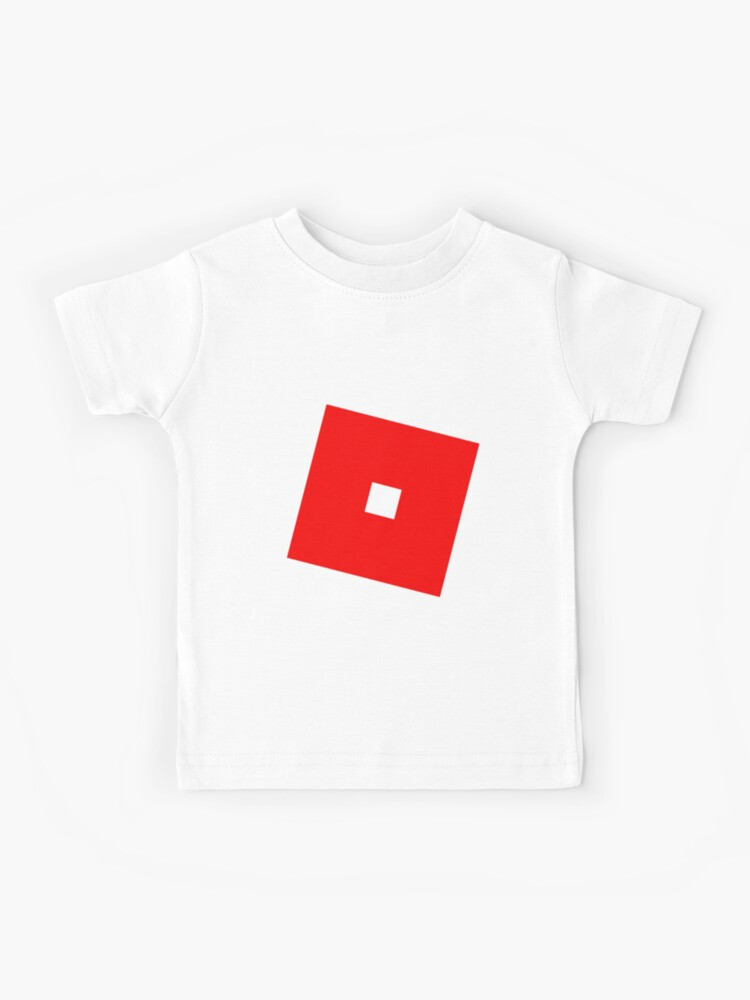 Robux Clothing Redbubble Roblox Red Kids T Shirt By T Shirt Designs Redbubble