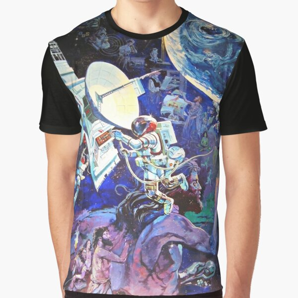 Spaceship Earth Mural Graphic T-Shirt