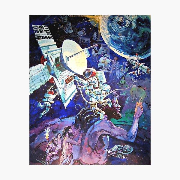Spaceship Earth Mural Photographic Print