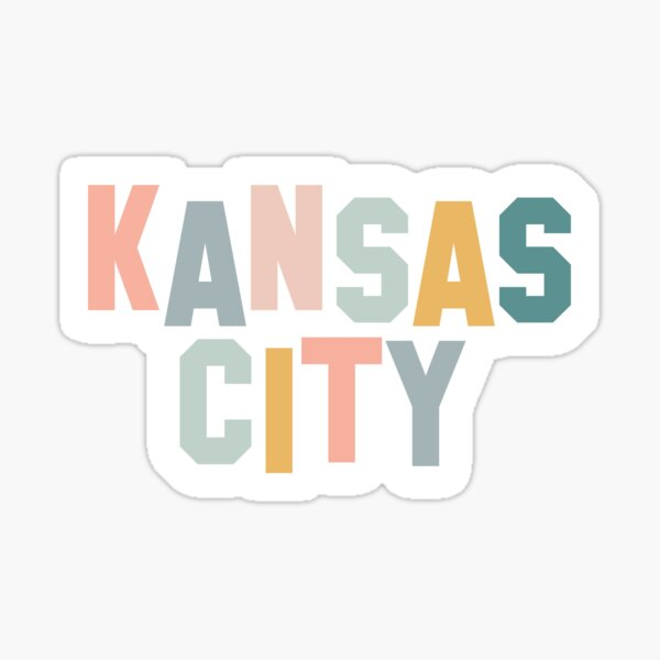 Kansas City (Pastels) Sticker