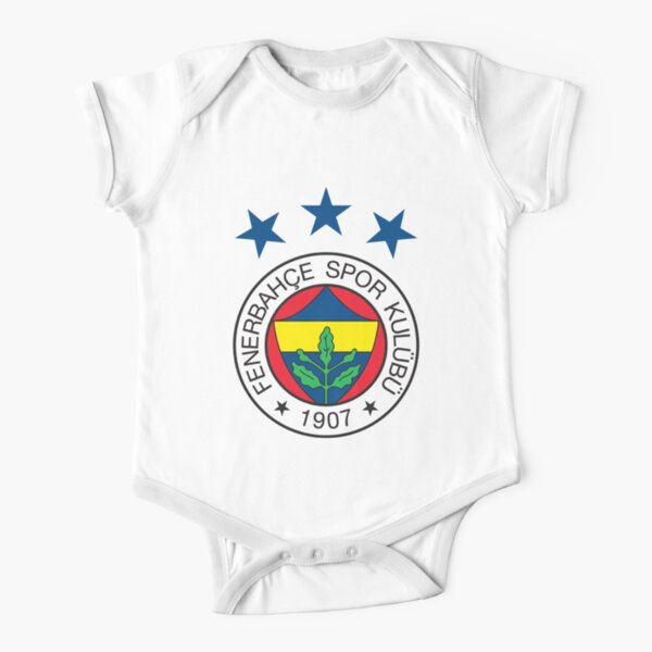 Fenerbahce Logo Short Sleeve Baby One-Piece